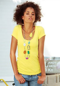 Damen T-Shirt, edc by Esprit