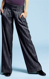 Bundfaltenhose,Stretch-Hose, Laura Scott