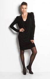 Kleid, Schwarz, Modetrends FS 2011