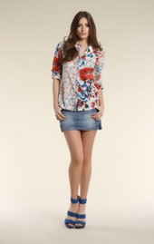 Bluse, Mustermix, Trends FS 2011