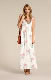 Modetrends, FS 2012, Farbtrends, Kleid, Creme