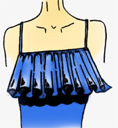 Brust, Kleider, Passform